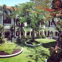 Photo taken at Hotel Majapahit by Jacek M. on 9/14/2014