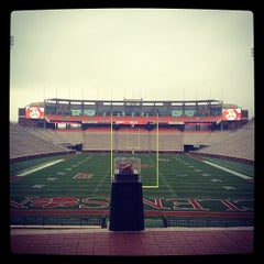 Photo taken at Memorial Stadium by Bill B. on 1/13/2013