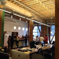 Photo taken at TechCrunch HQ by Dave Q. on 3/28/2014