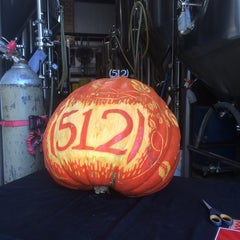 Photo taken at (512) Brewing Company by Jim N. on 10/25/2014