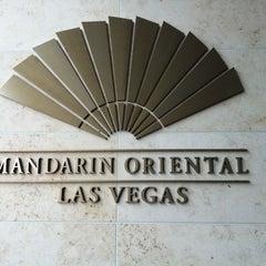Photo taken at Mandarin Oriental, Las Vegas by Agustin F. on 5/27/2013