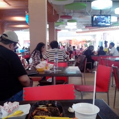 Photo taken at Food Court Margo City by Ning W. on 2/16/2013