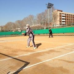 Photo taken at 반포종합운동장 테니스코트 by Jon S. on 3/3/2013
