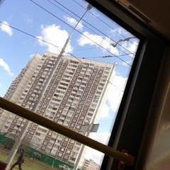 Photo taken at Автобус 262 by Ksyushenka D. on 4/21/2013