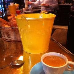Photo taken at Café le Soufflot by Renaud F. on 2/13/2015