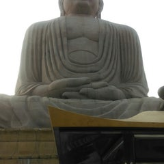 Photo taken at Great Buddha Statue by Rushabh D. on 10/29/2014
