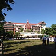 Photo taken at โรงเรียนเทพศิรินทร์ (Debsirin School) by Supasit v. on 6/9/2013