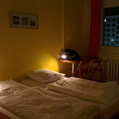 Photo taken at A&O Hotel & Hostel Dresden by Mark S. on 12/9/2012