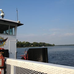 Photo taken at Golden Eagle Ferry by Michael C. on 8/17/2013