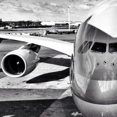 Photo taken at John F. Kennedy International Airport (JFK) by Laura G. on 11/25/2013