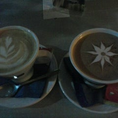 Photo taken at Platia Cafe by Afroditi W. on 4/16/2013