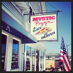 Photo taken at Mystic Pizza by Travis M. on 5/27/2013