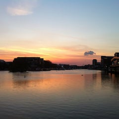 Photo taken at Brayford Wharf by Jamie S. on 4/6/2013