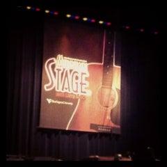 Photo taken at WVU Creative Arts Center by Stephanie M. on 4/15/2012