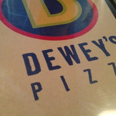 Photo taken at Dewey's Pizza by Bob W. on 1/16/2013