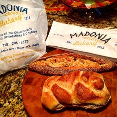 Photo taken at Madonia Bakery by Andrew G. on 11/22/2015