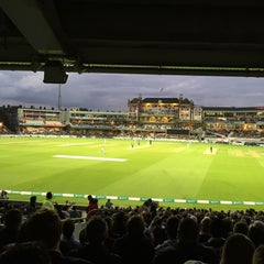 Photo taken at The Kia Oval by Liam C. on 9/17/2015
