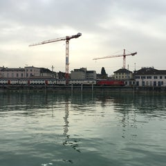 Photo taken at Romanshorn Hafen by Carsten O. on 4/3/2016