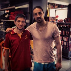 Photo taken at Galatasaray Store by £MR€!$t@NBUL C. on 2/17/2014