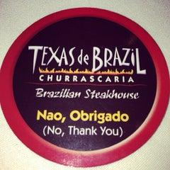 Photo taken at Texas de Brazil by Rafael C. on 4/1/2013