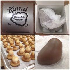 Photo taken at Kauai Chocolate Company by Capsun P. on 6/27/2014