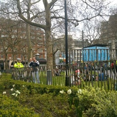 Photo taken at Leicester Square by Sara N. on 4/24/2013