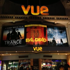 Photo taken at Vue Cinema by Robert E. on 5/5/2013