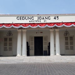 Photo taken at Museum Gedung Joang '45 by budhi h. on 8/29/2015