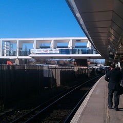 Photo taken at East Croydon Railway Station (ECR) by Sam S. on 4/2/2013