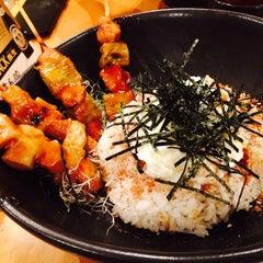 Photo taken at Manpuku まんぷく by pigbaboon on 8/27/2014