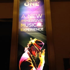 Photo taken at Michael Jackson ONE Theater by Jacyara H. on 4/24/2014