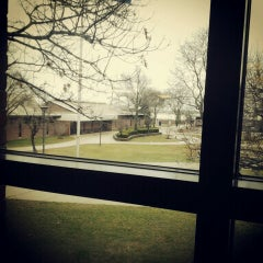 Photo taken at Schoolcraft College by Amber P. on 4/11/2013