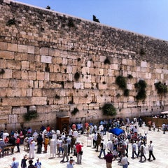 Photo taken at Western Wall (הכותל) by Dmitry 🔞 on 6/9/2013