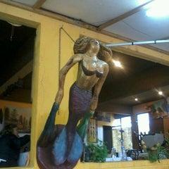 "Photo taken at Restaurant ""La Playa"", El Quisco by Lorena C. on 6/8/2013"