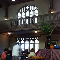 Photo taken at Clara's at the Cathedral Cafe by Karey S. on 1/10/2014