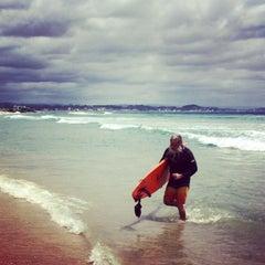 Photo taken at Coolangatta Beach by Krzysztof M. on 11/9/2015