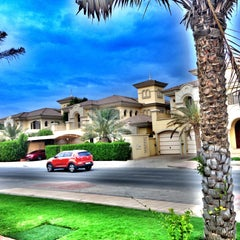 Photo taken at Palm Jumeirah Frond C by Miss L. on 4/26/2013