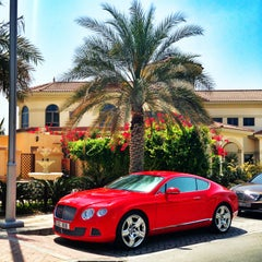 Photo taken at Palm Jumeirah Frond C by Miss L. on 3/27/2013