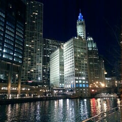 Photo taken at Chicago Riverwalk by Jose R. on 4/27/2013