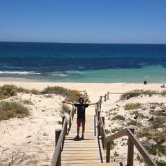 Photo taken at Cottesloe Beach by Kevin R. on 12/19/2012