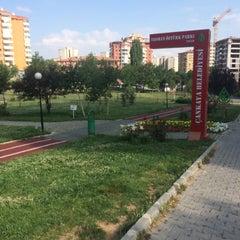 Photo taken at Teoman Öztürk Parkı by Zehra E. on 7/7/2015