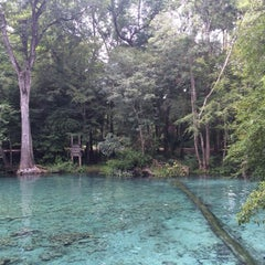Photo taken at Ginnie Springs by Sung Eun L. on 7/21/2014