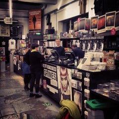 Photo taken at Rough Trade East by Rachel on 3/2/2013