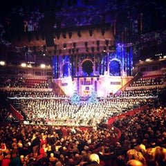 Photo taken at Royal Albert Hall by Matthew P. on 12/14/2012