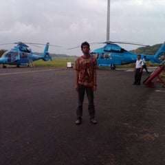 Photo taken at Total Handil II Base by Ilham M. on 7/19/2013