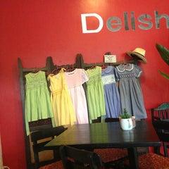 Photo taken at Delish Cafe by Антон З. on 5/20/2013