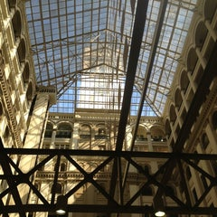 Photo taken at Old Post Office Pavilion by Amy M. on 4/6/2013