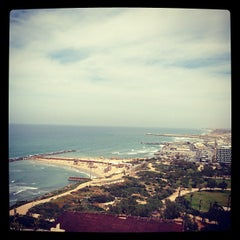 Photo taken at Hilton Tel Aviv by Anastasia C. on 4/2/2013