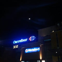 Photo taken at Carrefour by acung c. on 10/19/2012