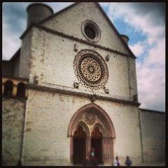 Photo taken at Basilica di San Francesco by Raymond M. on 4/20/2013
